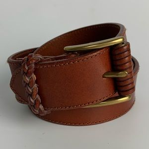 Fossil / NWOT Brown Leather Belt - Classic